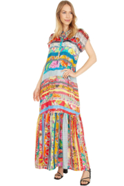 Johnny Was Friendship Dress - Front cropped