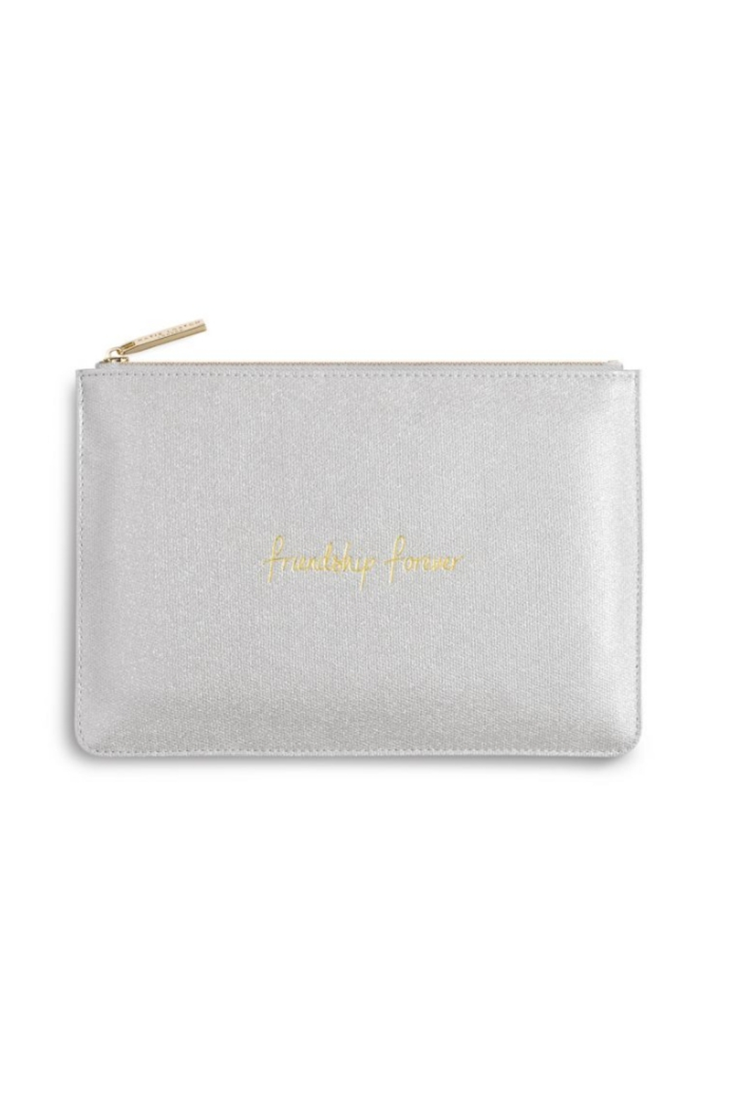 Katie Loxton Friendship Forever Perfect Pouch - Front Cropped Image