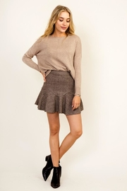 Olivaceous Frill Grey Skirt - Product Mini Image