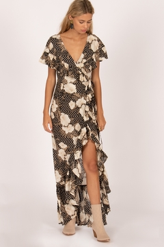 Shoptiques Product: Frill Seeker Maxi Dress