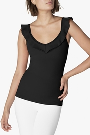 Beyond Yoga Frill Seeker Tank - Front cropped