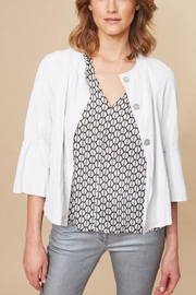 Lauren Vidal Frill Sleeve Jacket - Product Mini Image