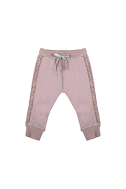 Paper Wings Frilled Trackies - Front cropped