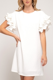 She + Sky Frilly & Flare dress - Product Mini Image