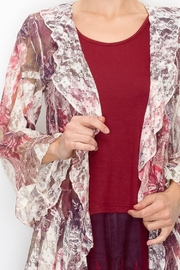 Origami  Frilly Floral Jacket - Product Mini Image