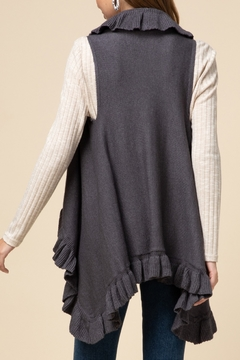 Entro  Frilly For Fall Vest - Alternate List Image
