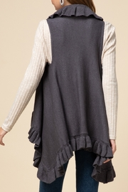 Entro  Frilly For Fall Vest - Front full body