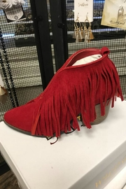 Lets See Style Fringe Booties - Product Mini Image