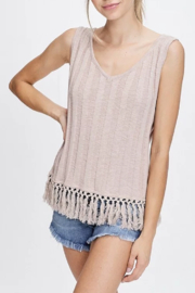 crescent Fringe Bottom Tank - Product Mini Image