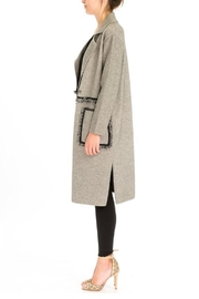 Baciano Fringe Coat - Front full body