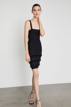 BCBG Max Azria Fringe Fitted Dress - Product List Image