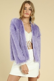 Wild Honey Fringe Jacket Cardigan - Product Mini Image