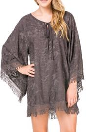 Fringe Kimono Dress - Product Mini Image
