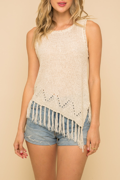 Shoptiques Product: Fringe Knit Tank