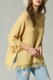 By Together Fringe Knit Tunic - Product Mini Image