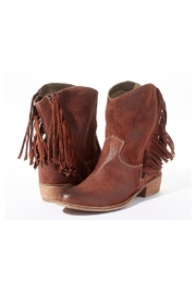Rebel With Cause Fringe Leather Boots - Product Mini Image