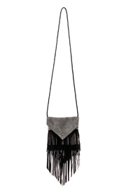 Fringe Leather Leather Suede Bag - Product Mini Image