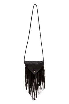 Fringe Leather Crossbody Leather Bag - Product List Image