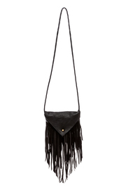 Fringe Leather Crossbody Leather Bag - Product Mini Image