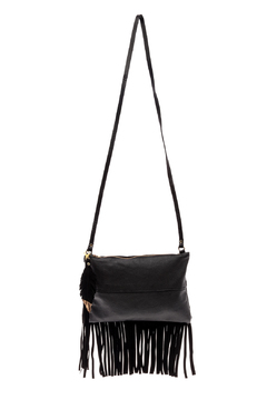 Fringe Leather Luxuries Leather Bag - Product List Image