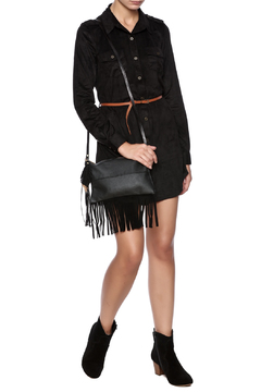 Fringe Leather Luxuries Leather Bag - Alternate List Image