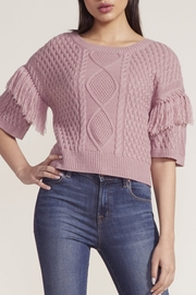 BB Dakota Fringe Out Top - Front cropped