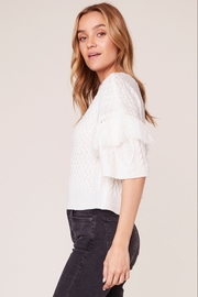 BB Dakota Fringe Out Top - Front full body