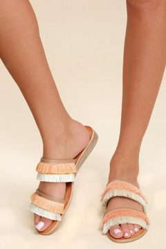 Dolce Vita Fringe Sandals - Product List Image