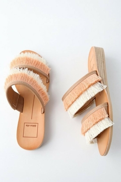 Dolce Vita Fringe Sandals - Alternate List Image