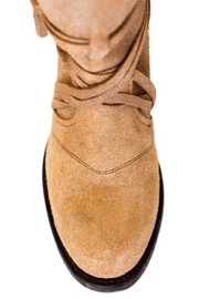 Miss Macie Boots Fringe Suede Bootie - Back cropped