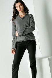 THML Clothing Fringe Sweater - Product Mini Image