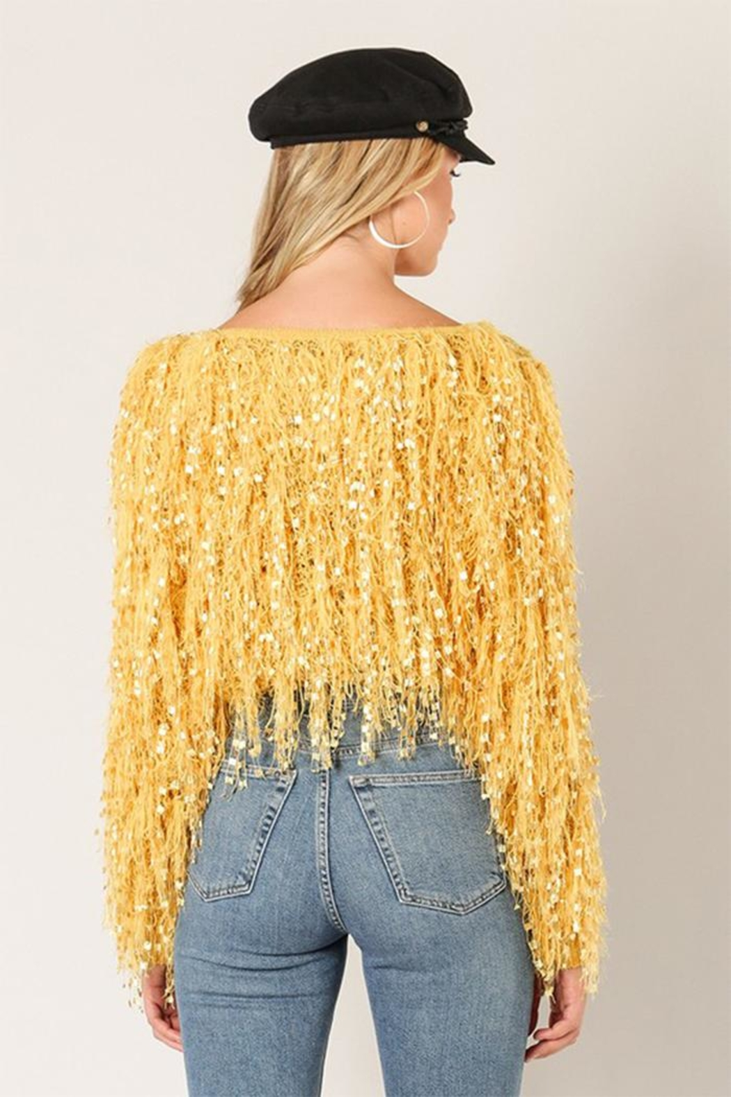0cd96003bb91f4 Wow Couture Fringe Sweater from New York by Dor L'Dor — Shoptiques