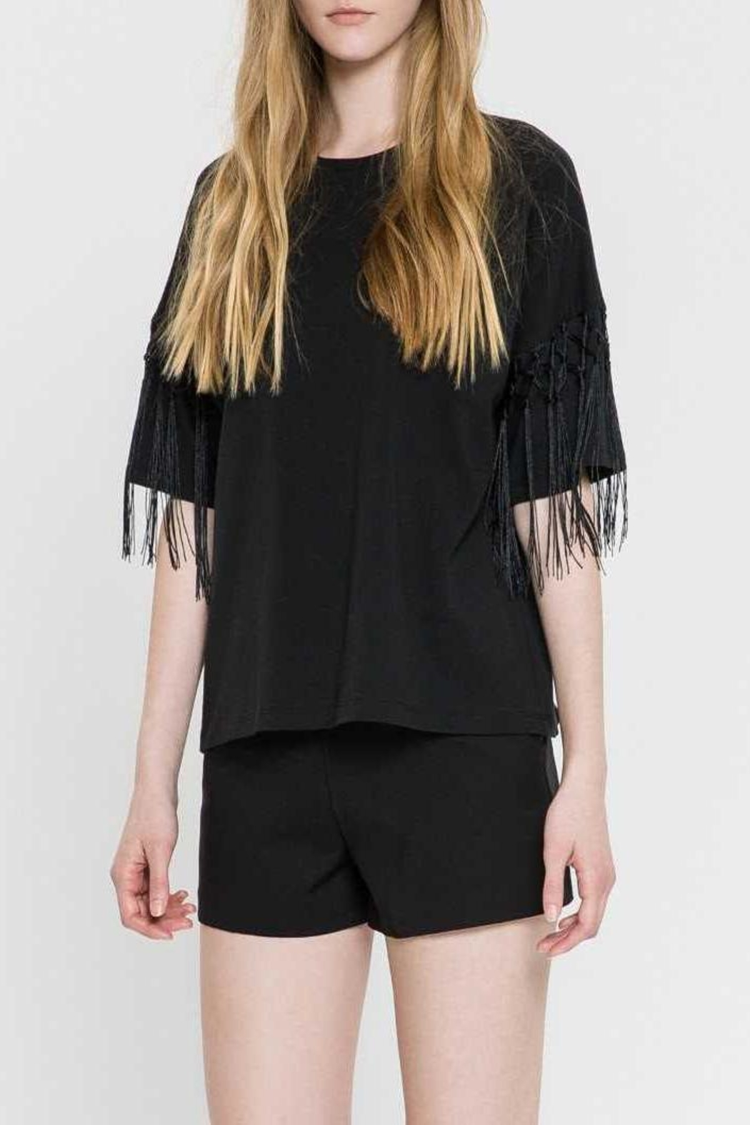 English Factory Fringe Top - Front Cropped Image