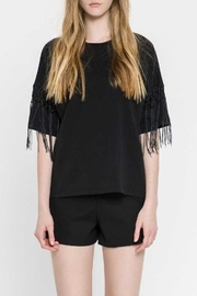 English Factory Fringe Top - Front full body