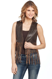Cripple Creek Fringe Vest - Product Mini Image