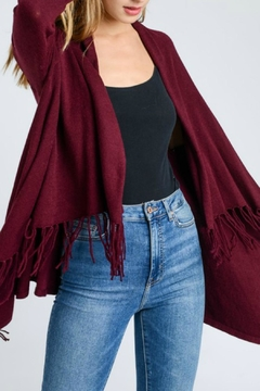 Shoptiques Product: Fringe Wrap Cardigan
