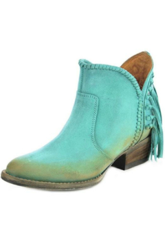 Corral Boots Fringed Bootie - Alternate List Image