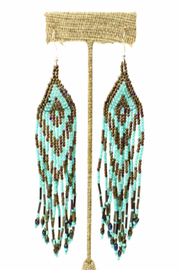 Patricia's Presents Fringed Earring - Product Mini Image