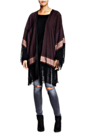 Fate Fringed Kimono - Front cropped