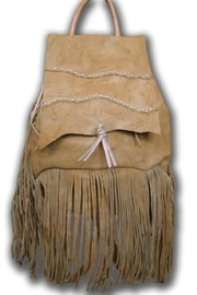 Kobler Inc. Fringed Leather Backpack - Product Mini Image