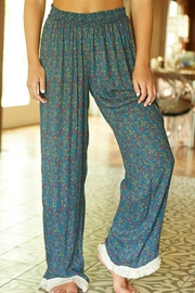 Natural Life Fringed Lounge Pants - Product Mini Image