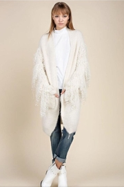 Mittoshop Fringed Sleeve Cardigan - Product Mini Image