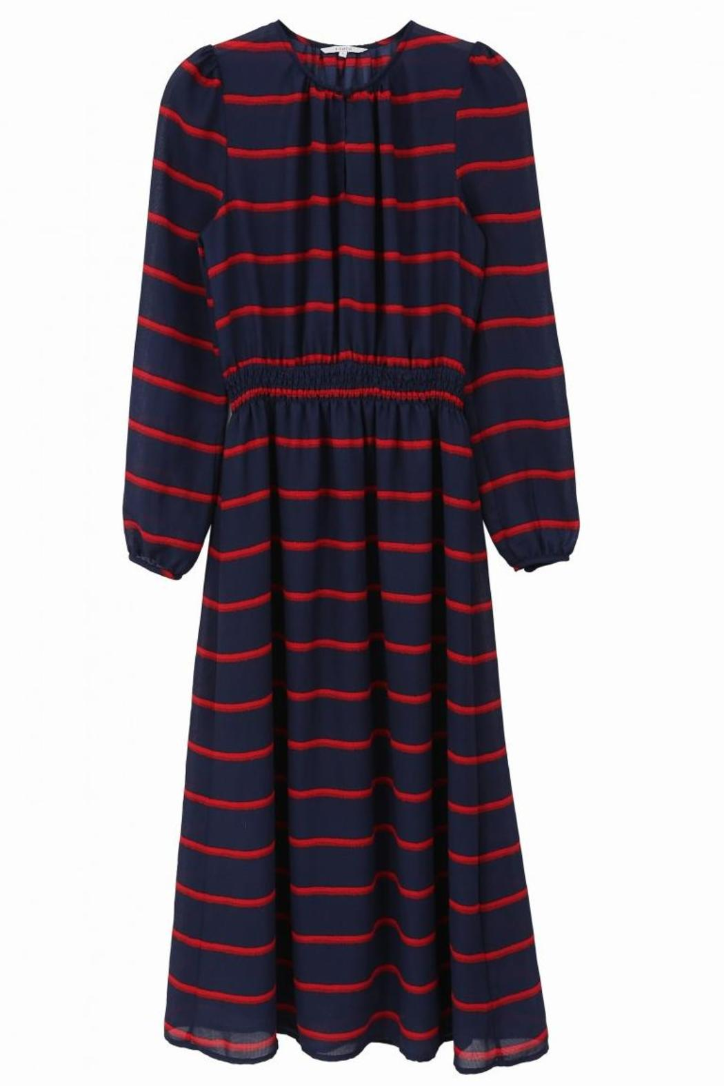 FRNCH Amaryllis Striped Dress - Side Cropped Image