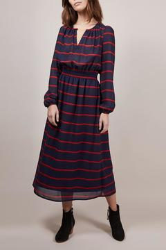 FRNCH Amaryllis Striped Dress - Product List Image