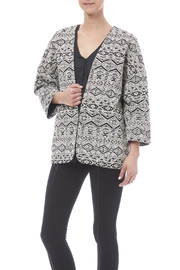 FRNCH Black And White Blazer - Product Mini Image