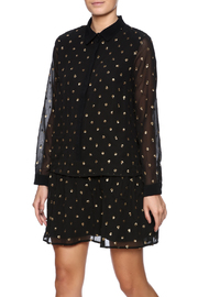 FRNCH Black Sparkle Dress - Product Mini Image