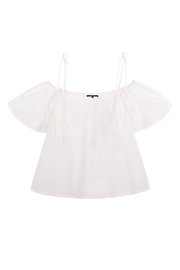 FRNCH Ciana Off-Shoulder Top - Product Mini Image