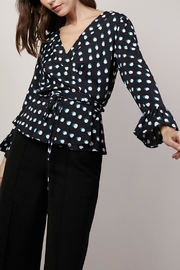 FRNCH Clelia Dot Blouse - Product Mini Image