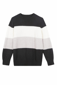 FRNCH Colorblock Noee Sweater - Alternate List Image