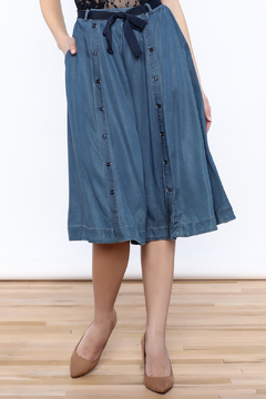 Shoptiques Product: Denim Flare Skirt